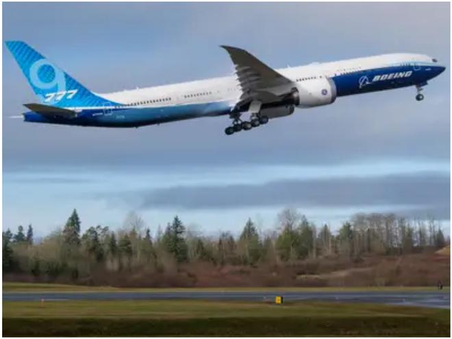 777X: flagship khổng lồ mới của Boeing vừa thực hiện thành công chuyến bay đầu tiên - Ảnh 18.