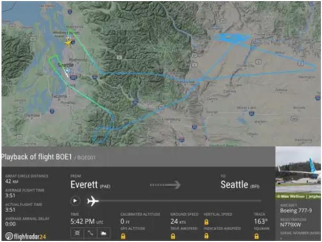 777X: flagship khổng lồ mới của Boeing vừa thực hiện thành công chuyến bay đầu tiên - Ảnh 19.