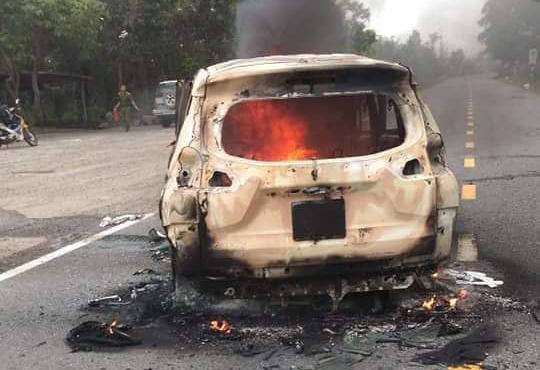 Hiện trường chiếc xe ô tô Xpander phát nổ khiến 2 người tử vong - Ảnh 5.