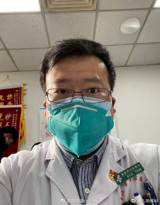 Bác sĩ từng đưa ra cảnh báo sớm về virus corona tại Vũ Hán đang trong tình trạng nguy kịch - Ảnh 1.