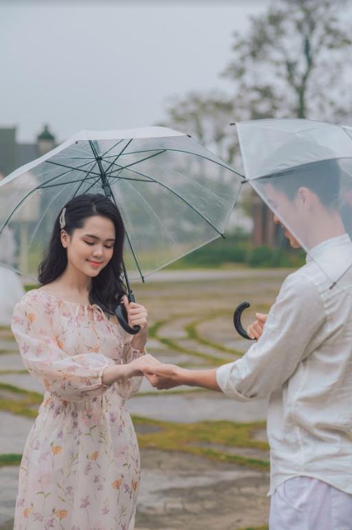 Duy Mạnh tung bộ ảnh cưới mới, lãng mạn, tình tứ bên Quỳnh Anh - Ảnh 3.