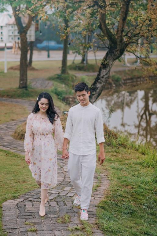 Duy Mạnh tung bộ ảnh cưới mới, lãng mạn, tình tứ bên Quỳnh Anh - Ảnh 9.