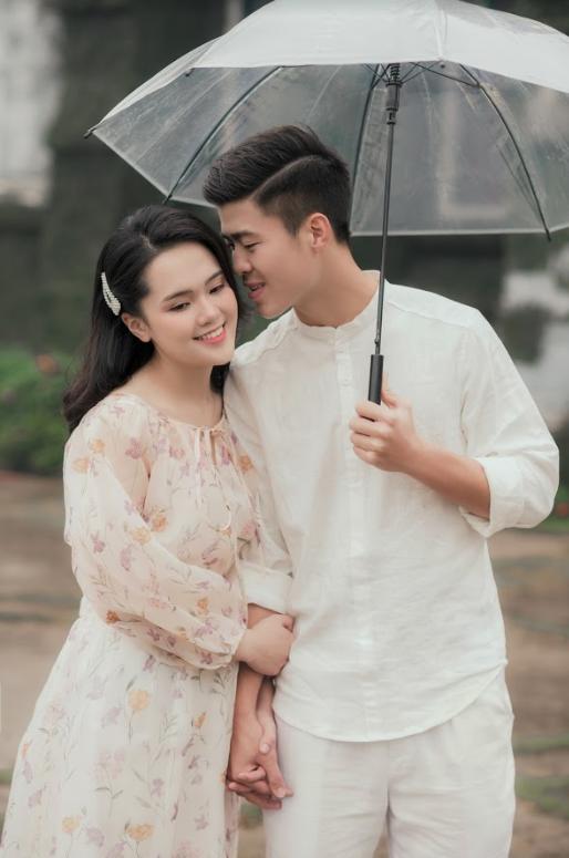 Duy Mạnh tung bộ ảnh cưới mới, lãng mạn, tình tứ bên Quỳnh Anh - Ảnh 5.