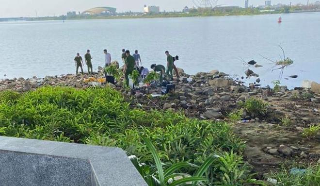 Hiện trường vụ vali chứa thi thể không lành lặn trôi trên sông Hàn - Ảnh 3.