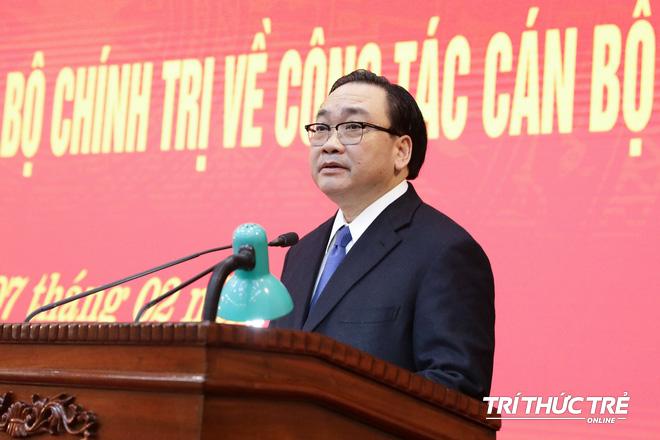 (ẢNH) Toàn cảnh lễ nhận quyết định Bí thư Thành ủy Hà Nội của Phó Thủ tướng Vương Đình Huệ - Ảnh 10.