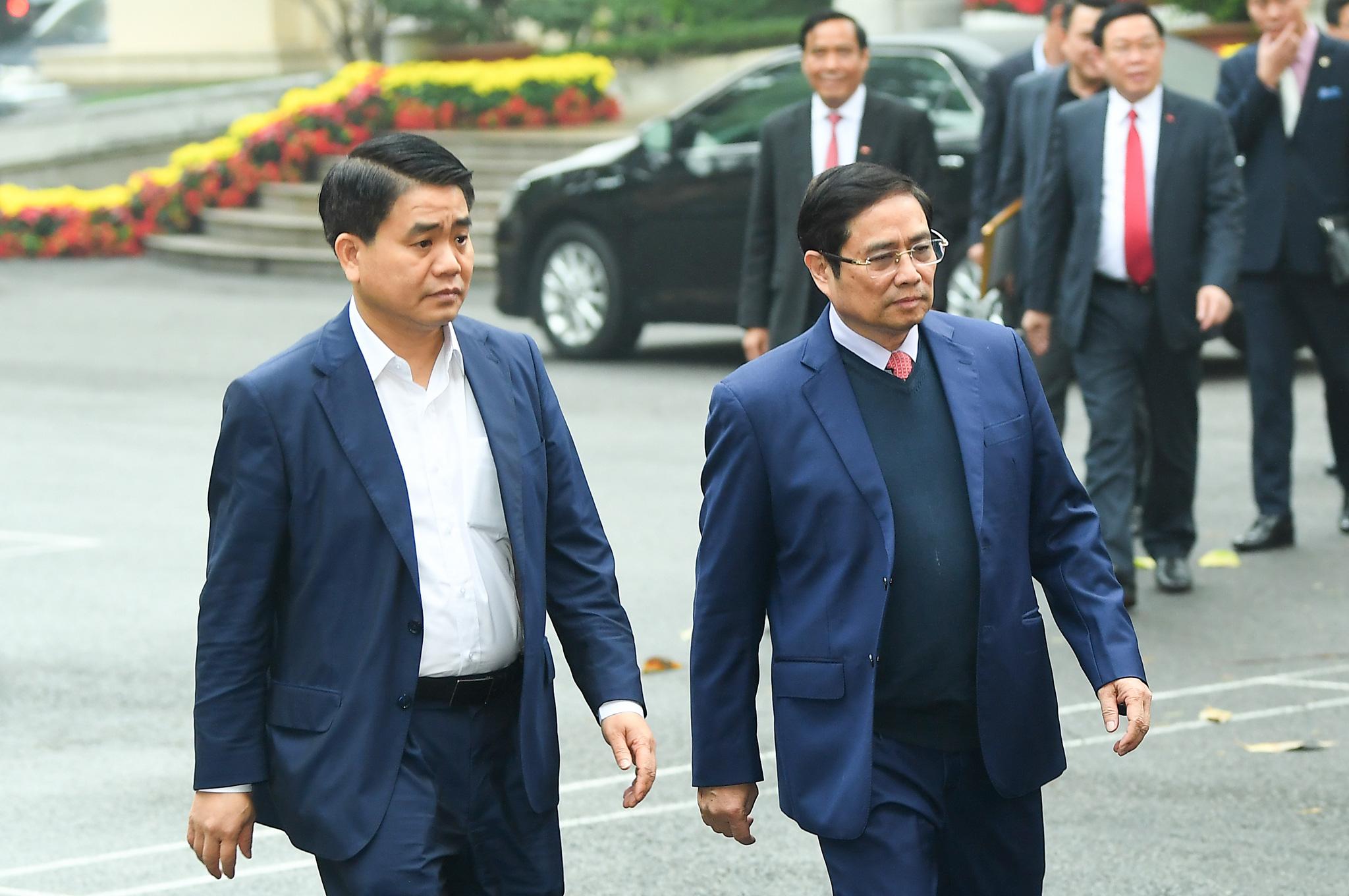 (ẢNH) Toàn cảnh lễ nhận quyết định Bí thư Thành ủy Hà Nội của Phó Thủ tướng Vương Đình Huệ - Ảnh 3.