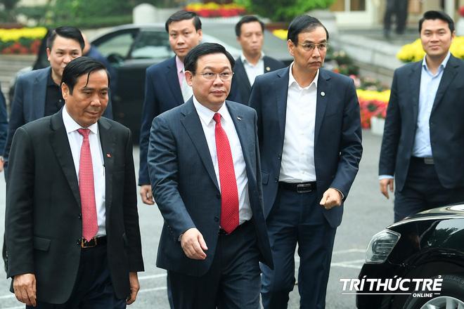 (ẢNH) Toàn cảnh lễ nhận quyết định Bí thư Thành ủy Hà Nội của Phó Thủ tướng Vương Đình Huệ - Ảnh 2.