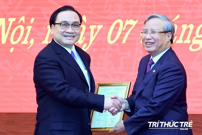 (ẢNH) Toàn cảnh lễ nhận quyết định Bí thư Thành ủy Hà Nội của Phó Thủ tướng Vương Đình Huệ - Ảnh 6.
