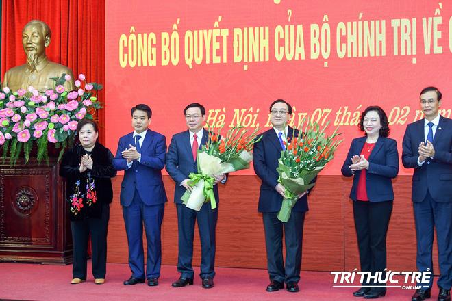 (ẢNH) Toàn cảnh lễ nhận quyết định Bí thư Thành ủy Hà Nội của Phó Thủ tướng Vương Đình Huệ - Ảnh 9.