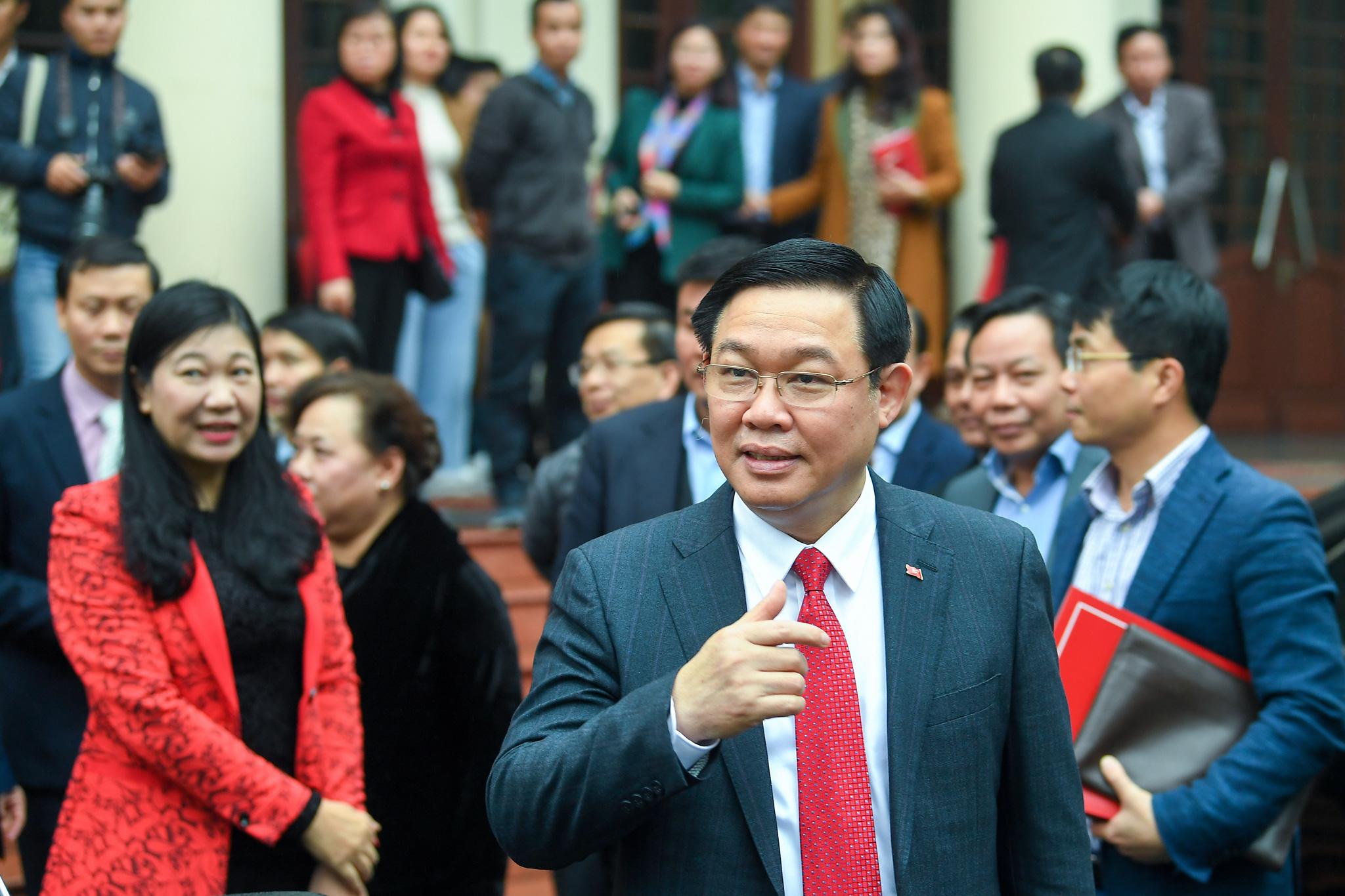(ẢNH) Toàn cảnh lễ nhận quyết định Bí thư Thành ủy Hà Nội của Phó Thủ tướng Vương Đình Huệ - Ảnh 14.