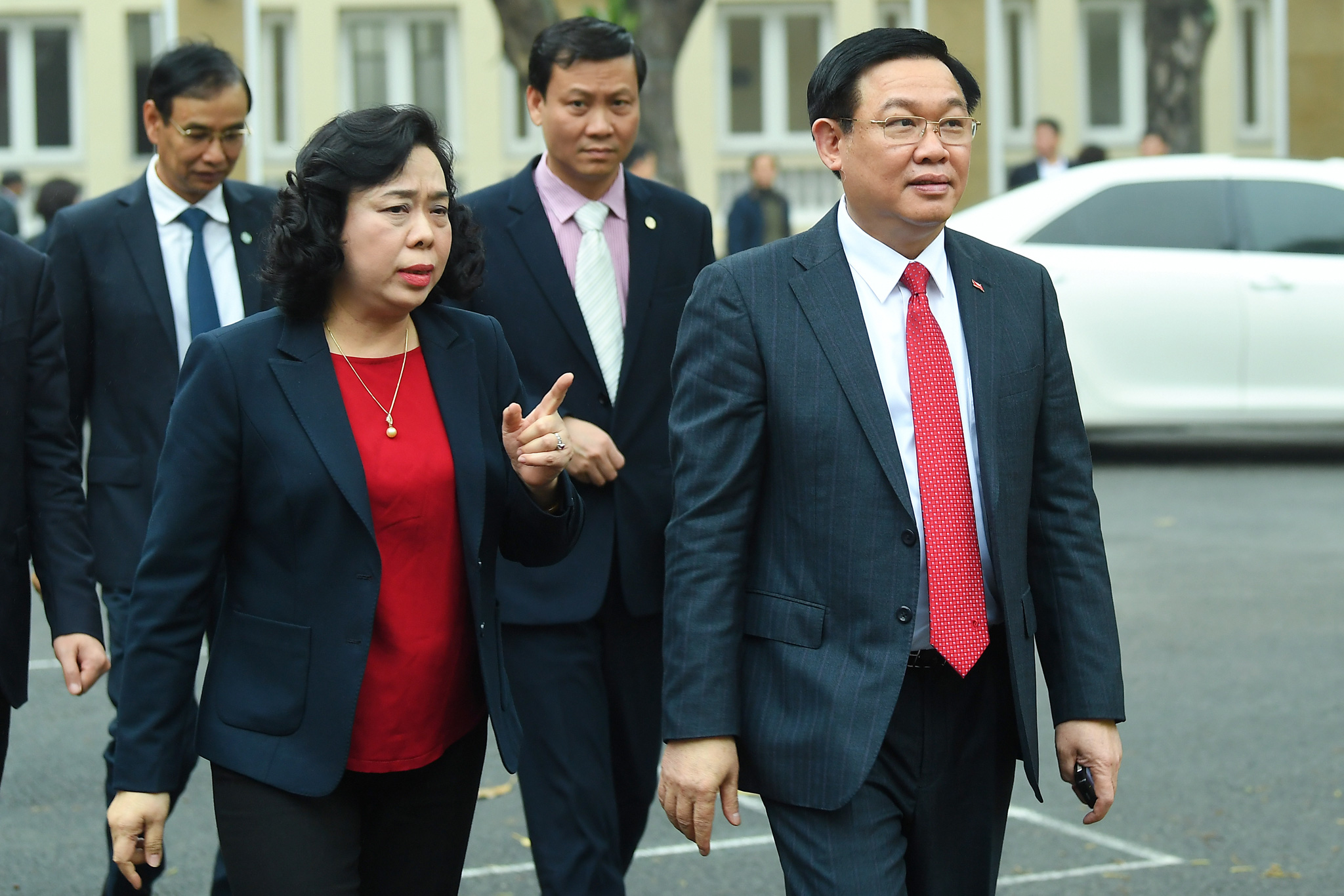 (ẢNH) Toàn cảnh lễ nhận quyết định Bí thư Thành ủy Hà Nội của Phó Thủ tướng Vương Đình Huệ - Ảnh 15.