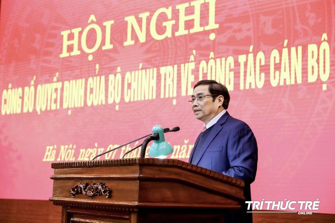(ẢNH) Toàn cảnh lễ nhận quyết định Bí thư Thành ủy Hà Nội của Phó Thủ tướng Vương Đình Huệ - Ảnh 4.