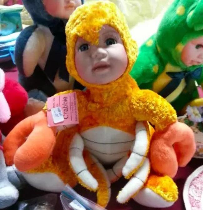Không tin được đây là những món đồ chơi cho trẻ em, đến người lớn chỉ nhìn thôi cũng hoảng sợ - Ảnh 5.