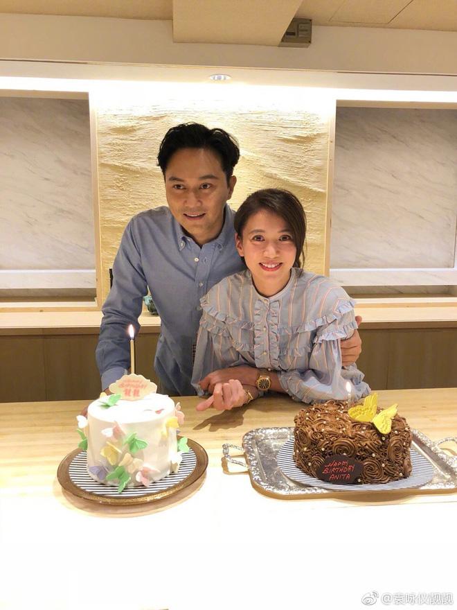 Mấy ai được như cặp Viên Vịnh Nghi - Trương Trí Lâm: 19 năm bên nhau nàng vẫn đỏ mặt, tim đập mạnh khi chụp ảnh với chàng - Ảnh 6.