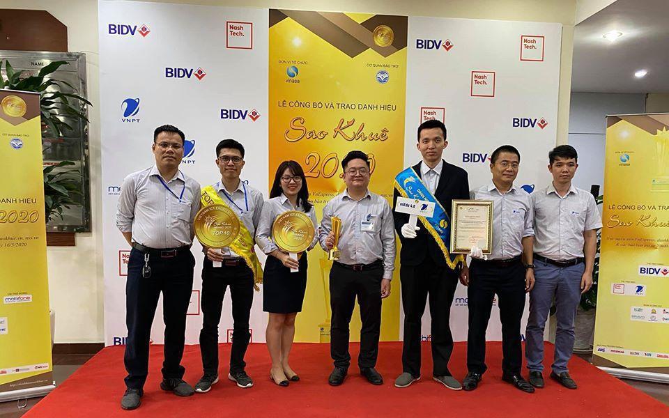Sản phẩm dịch vụ của VNPT được công nhận danh hiệu top 10 Sao khuê 2020