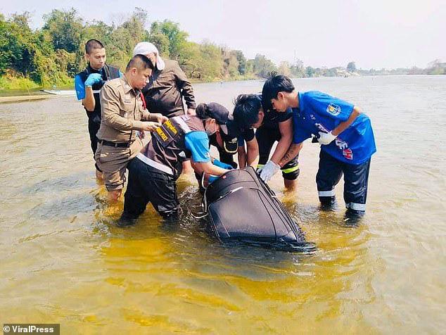 Đi du lịch Thái Lan, cặp vợ chồng bị giết hại bí ẩn, chồng bị nhét xác vào vali trôi sông, vợ biến mất không dấu vết - Ảnh 1.