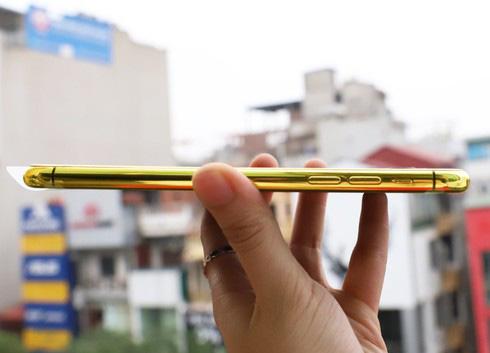Sốc với điện thoại iPhone Pro Max mạ vàng 24K có giá 50-60 triệu đồng - Ảnh 5.