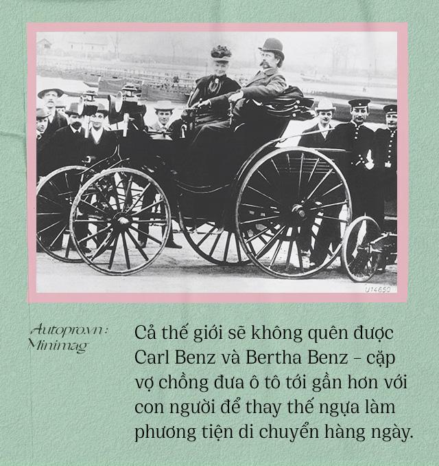 Chuyện ít biết về người vợ liều lĩnh của Benz: Không có bà thì không có Mercedes-Benz và càng không có ô tô hiện đại như ngày nay - Ảnh 9.