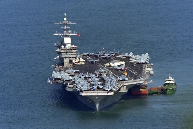 Đô đốc tàu sân bay Mỹ vinh dự khi nhận được sự đón tiếp nồng hậu từ nhân dân Việt Nam - Ảnh 1.