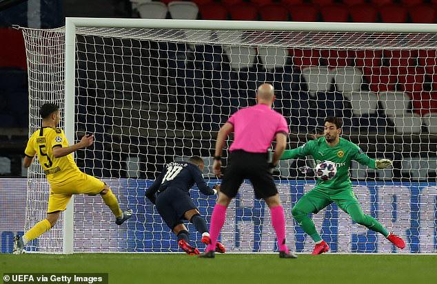 Neymar thoát lời nguyền kỳ quặc, PSG nhấn chìm Dortmund giữa đấu trường trống vắng - Ảnh 3.