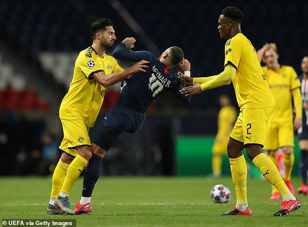 Neymar thoát lời nguyền kỳ quặc, PSG nhấn chìm Dortmund giữa đấu trường trống vắng - Ảnh 4.