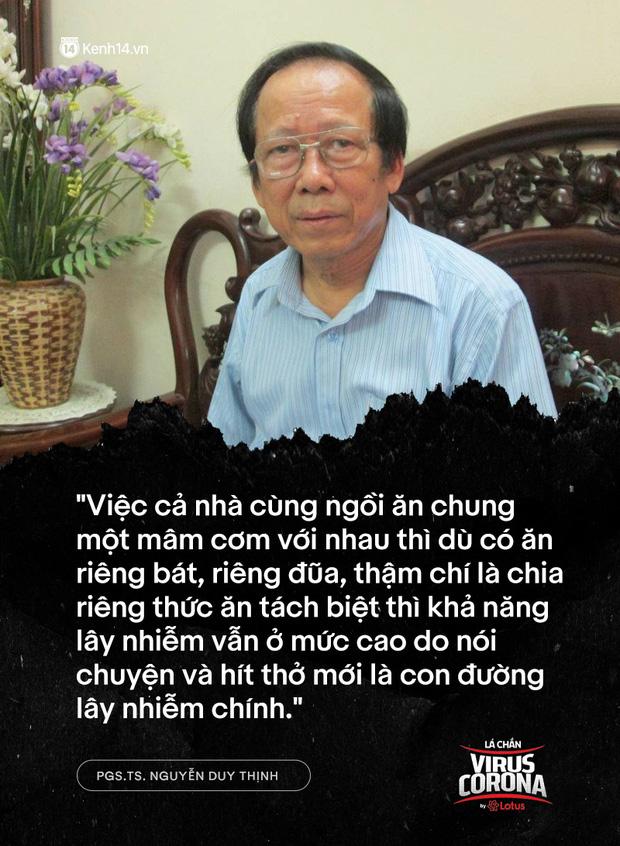 """PGS.TS. Nguyễn Duy Thịnh: Tụ tập nhậu nhẹt, """"chém gió"""" là điều nên bỏ, đó mới là nguyên nhân chính gây lây nhiễm trong bữa ăn chứ không phải do vấn đề ăn! - Ảnh 2."""
