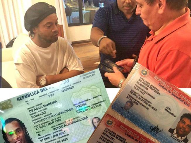 Dọa cho Ronaldinho ngồi tù mọt gông, Chilavert mượn gió bẻ măng để tranh cử tổng thống - Ảnh 3.