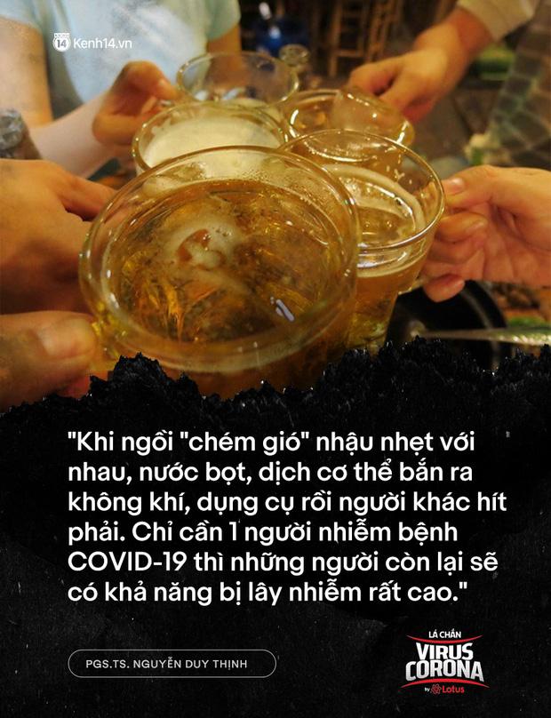 """PGS.TS. Nguyễn Duy Thịnh: Tụ tập nhậu nhẹt, """"chém gió"""" là điều nên bỏ, đó mới là nguyên nhân chính gây lây nhiễm trong bữa ăn chứ không phải do vấn đề ăn! - Ảnh 5."""