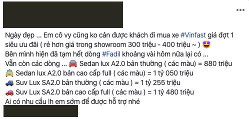 Khách Việt om hàng rồi rao bán lô xe VinFast Lux với giá rẻ hơn gần 400 triệu đồng, hứa hẹn sang tên trong 1 nốt nhạc - Ảnh 4.