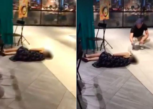 Đoạn clip người phụ nữ ngất xỉu ở trung tâm thương mại nhưng không ai đến giúp khiến dân mạng phẫn nộ và sự thật là gì? - Ảnh 1.