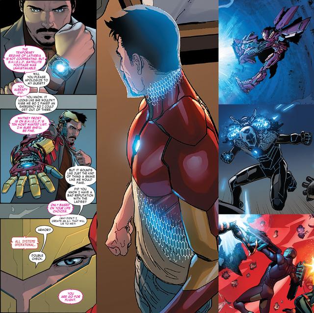 Top 10 bộ giáp siêu bá đạo nhất, ngầu nhất của các Iron Man trong Đa Vũ Trụ (P.1) - Ảnh 5.