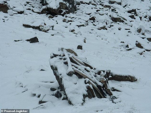 Điều khủng khiếp gì khiến hồ Roopkund có đến 800 bộ xương người? - Ảnh 1.
