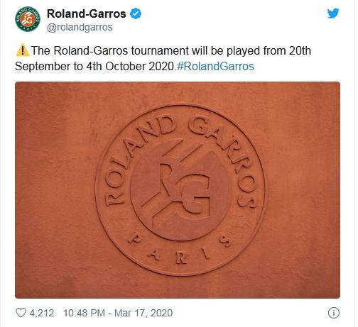 Giải quần vợt Pháp Mở rộng gây tranh cãi lớn - Ảnh 1.
