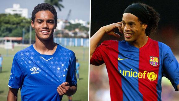 Chối từ cha đẻ, con trai duy nhất của Ronaldinho lập danh dưới mái nhà của Ronaldo - Ảnh 3.