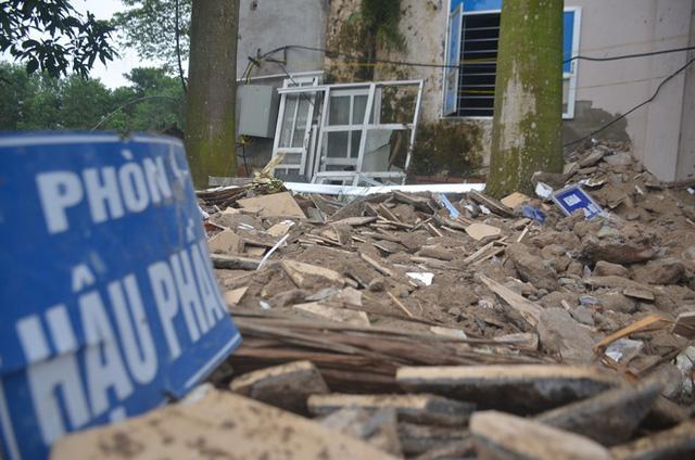 Chùm ảnh: Cận cảnh quá trình biến bệnh viện bỏ hoang ở Hà Nội thành khu cách ly dành cho 200 người - Ảnh 12.
