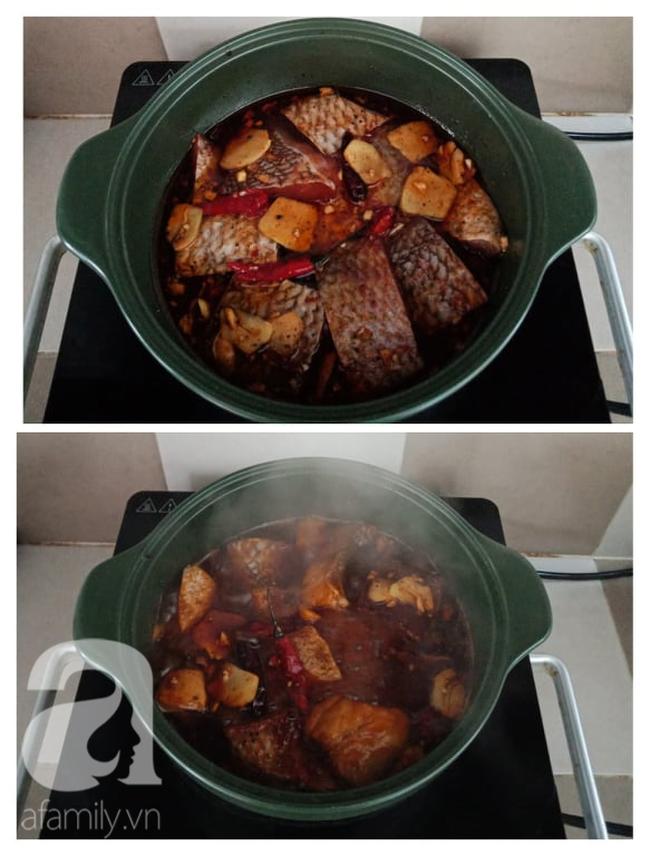 Mỗi lần kho cá kiểu này là tôi phải nấu nhiều cơm, vì cả nhà ai cũng ăn khỏe hơn hẳn - Ảnh 4.