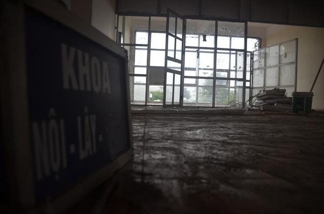 Chùm ảnh: Cận cảnh quá trình biến bệnh viện bỏ hoang ở Hà Nội thành khu cách ly dành cho 200 người - Ảnh 10.