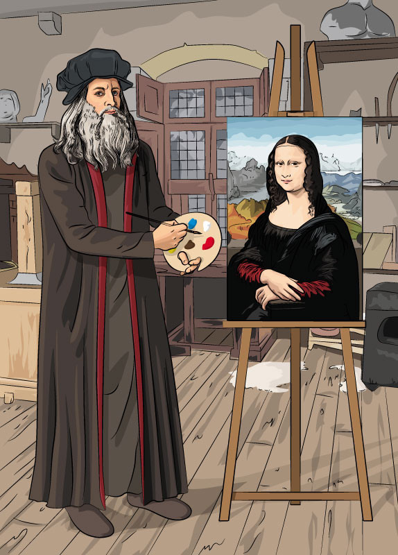 Giải mã bí ẩn trong những bức họa xấu xí trong sổ tay của Leonardo da Vinci - Ảnh 9.