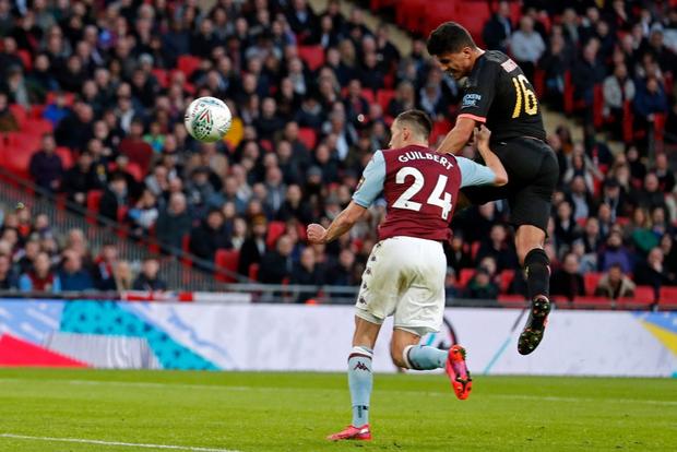 Man City lần thứ ba liên tiếp vô địch Cúp Liên đoàn Anh - Ảnh 3.