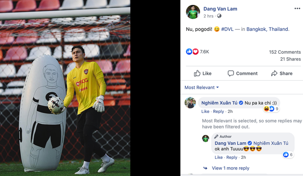 HLV Muangthong United nói gì khi đẩy thủ môn số 1 tuyển Việt Nam lên băng ghế dự bị? - Ảnh 4.