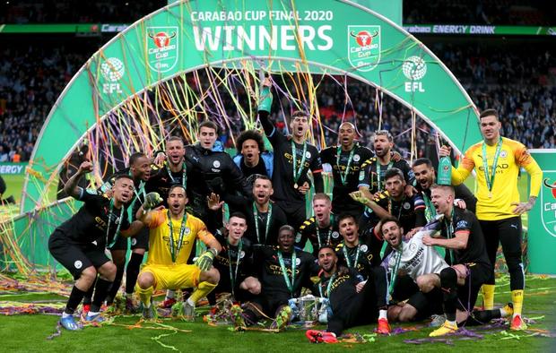 Man City lần thứ ba liên tiếp vô địch Cúp Liên đoàn Anh - Ảnh 8.