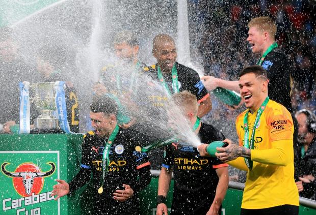 Man City lần thứ ba liên tiếp vô địch Cúp Liên đoàn Anh - Ảnh 10.