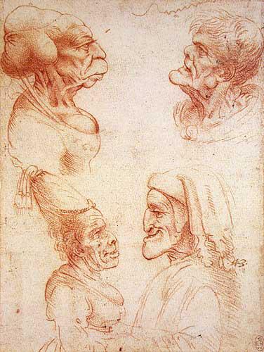 Giải mã bí ẩn trong những bức họa xấu xí trong sổ tay của Leonardo da Vinci - Ảnh 10.