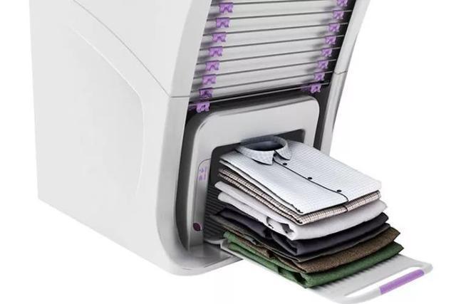 Chị em giải phóng sức lao động thôi: Máy gấp quần áo tự động có thể xử hàng chục bộ đồ trong 5 phút - Ảnh 9.