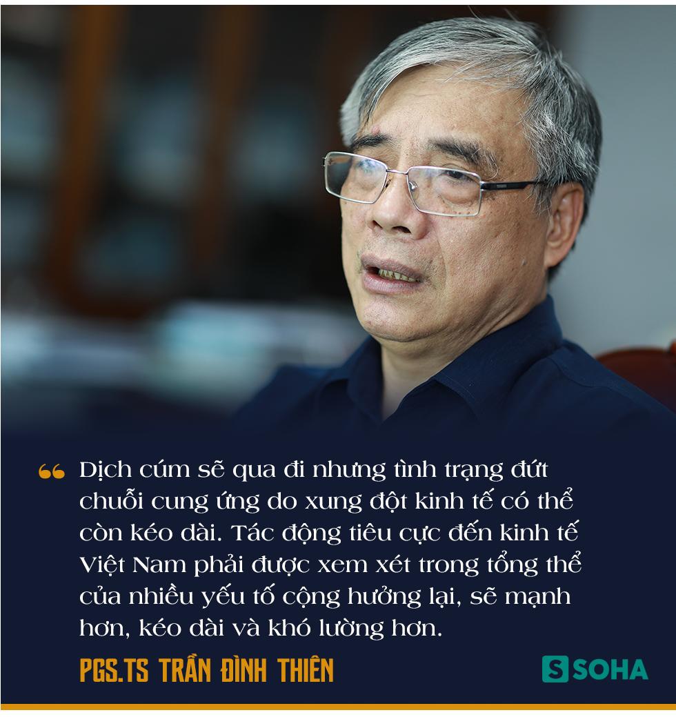 PGS.TS Trần Đình Thiên: Việt Nam vẫn có thể lật ngược tình thế tăng trưởng nếu chống dịch Covid-19 cho kết quả tốt - Ảnh 2.