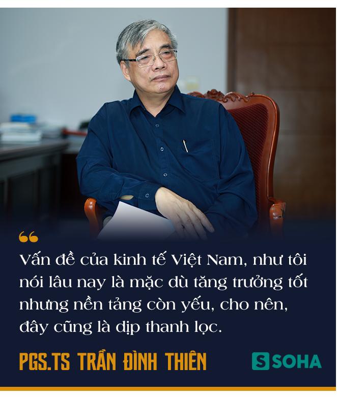 PGS.TS Trần Đình Thiên: Việt Nam vẫn có thể lật ngược tình thế tăng trưởng nếu chống dịch Covid-19 cho kết quả tốt - Ảnh 7.