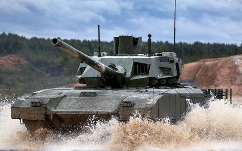 Cựu sĩ quan Mỹ nhận xét về tiêm kích Su-57 và xe tăng T-14 Armata khiến Nga chết lặng? - Ảnh 1.
