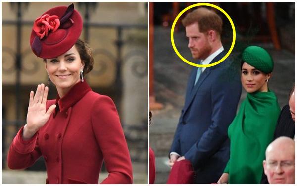 Tiết lộ cuộc nói chuyện riêng kìm nén nước mắt giữa Công nương Kate với em chồng Harry trong buổi chia tay, Meghan Markle không hề được nhắc đến - Ảnh 1.