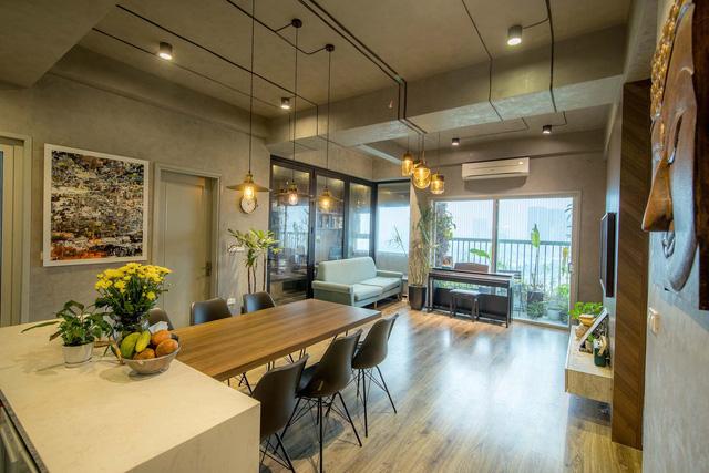 Đi ngược số đông, gia đình trẻ ở Hà Nội cải tạo căn hộ 2 phòng ngủ thành một - Ảnh 2.