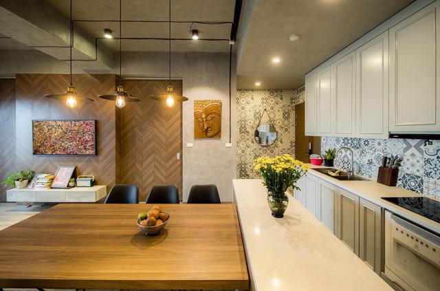 Đi ngược số đông, gia đình trẻ ở Hà Nội cải tạo căn hộ 2 phòng ngủ thành một - Ảnh 4.